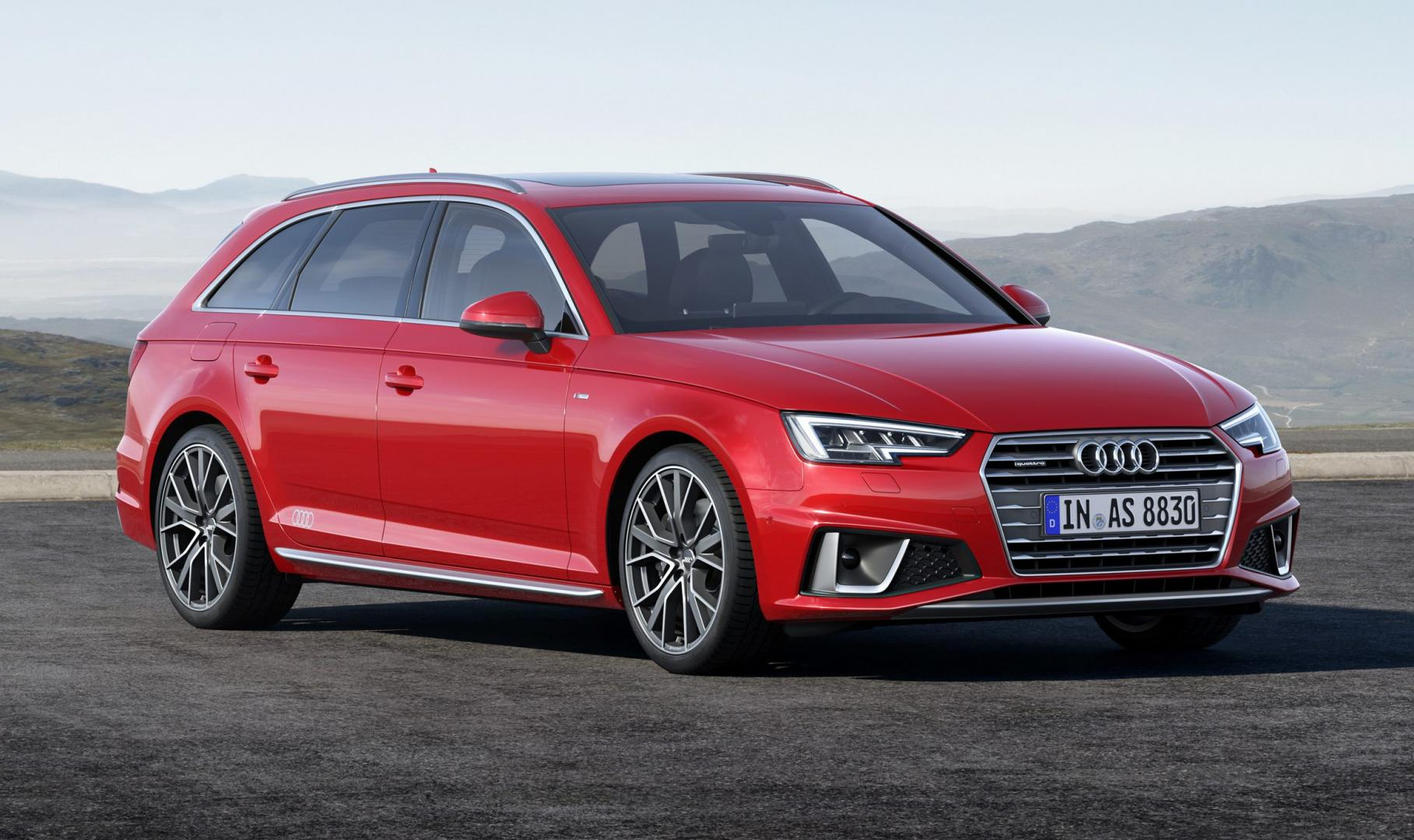 Audi A4 Avant Misano Red S Line