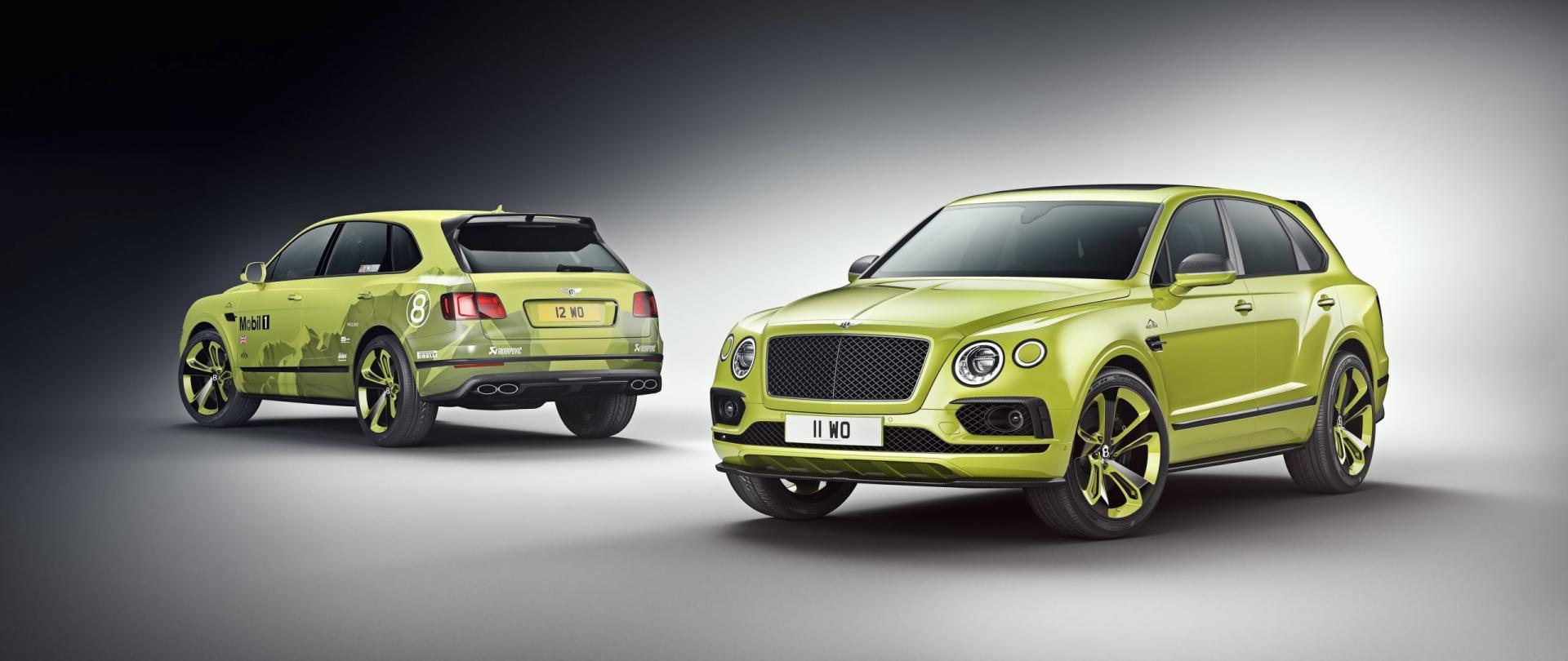 Bentley Bentayga: snelste SUV op Pikes Peak