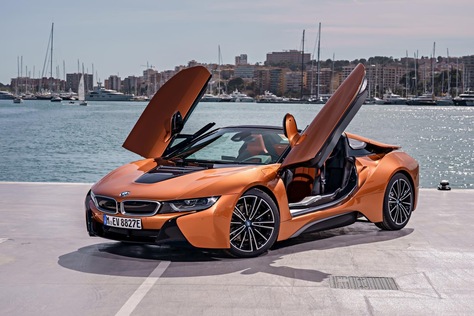 BMW i8 Roadster deuren