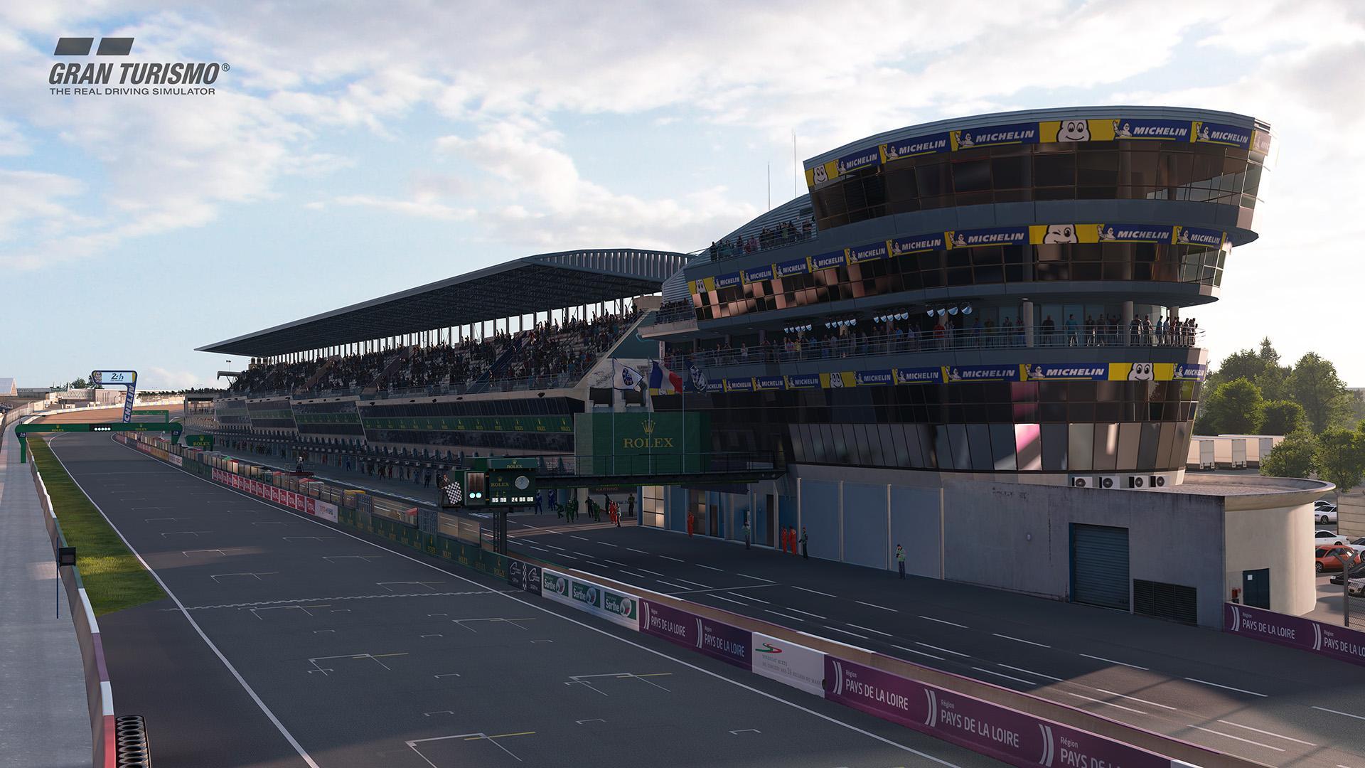 Circuit de La Sarthe 24 uur van Le mans gran turismo sport