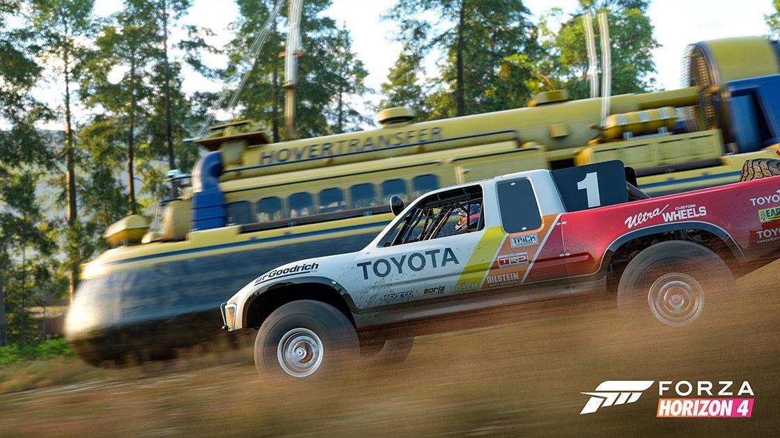 Forza Horizon 4: de eerste trailer