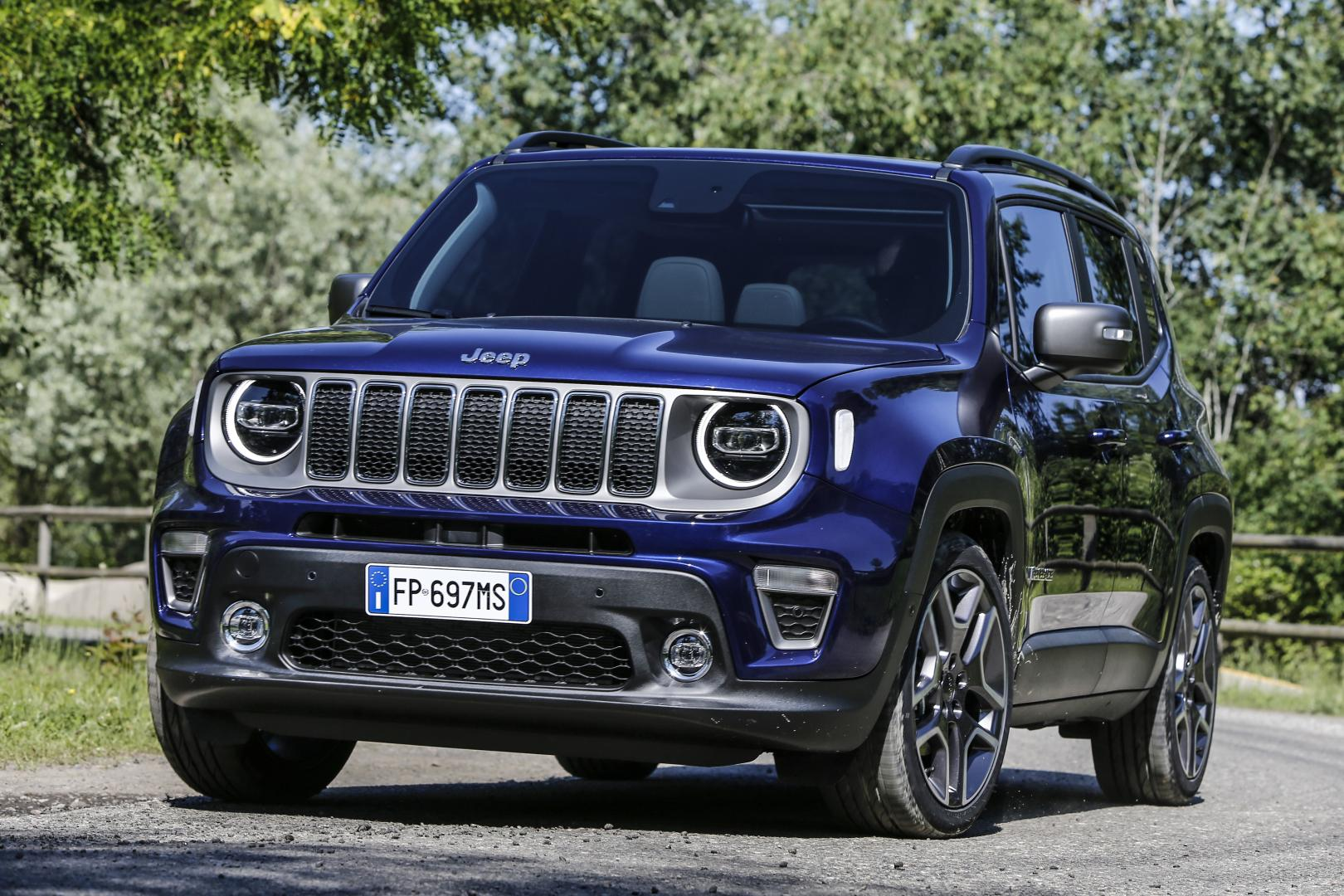 Jeep renegade facelift voorkant