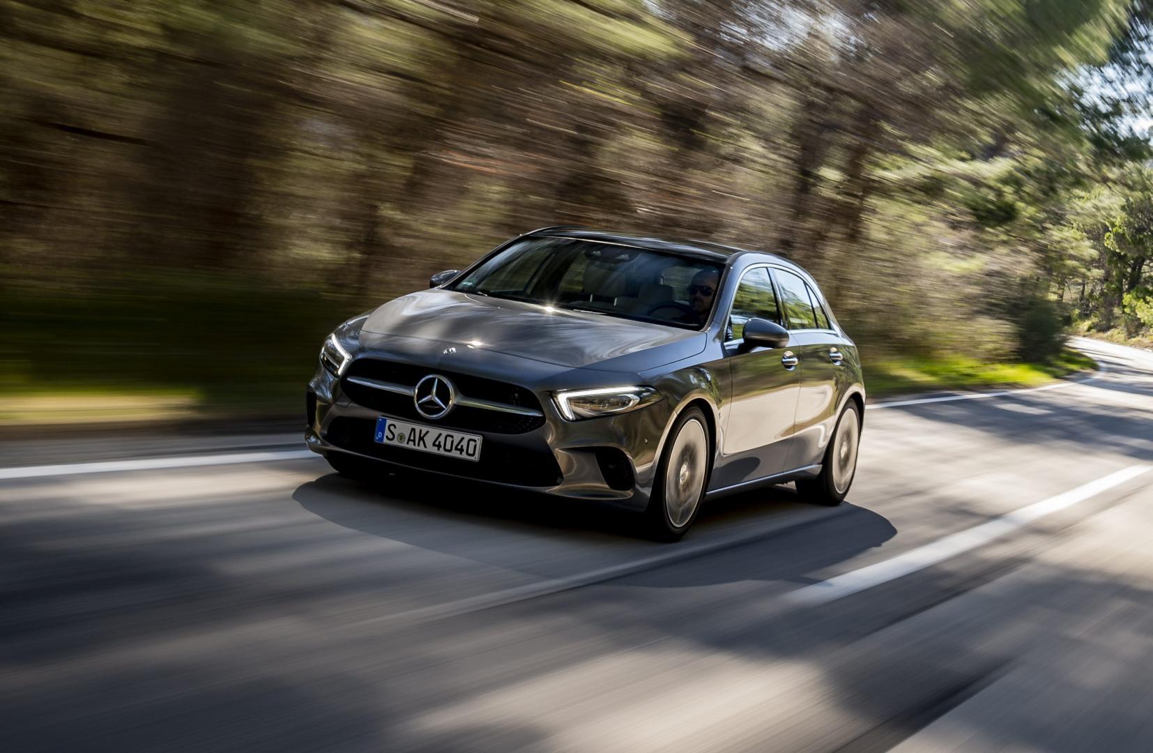 Mercedes A-klasse 2018 grijs