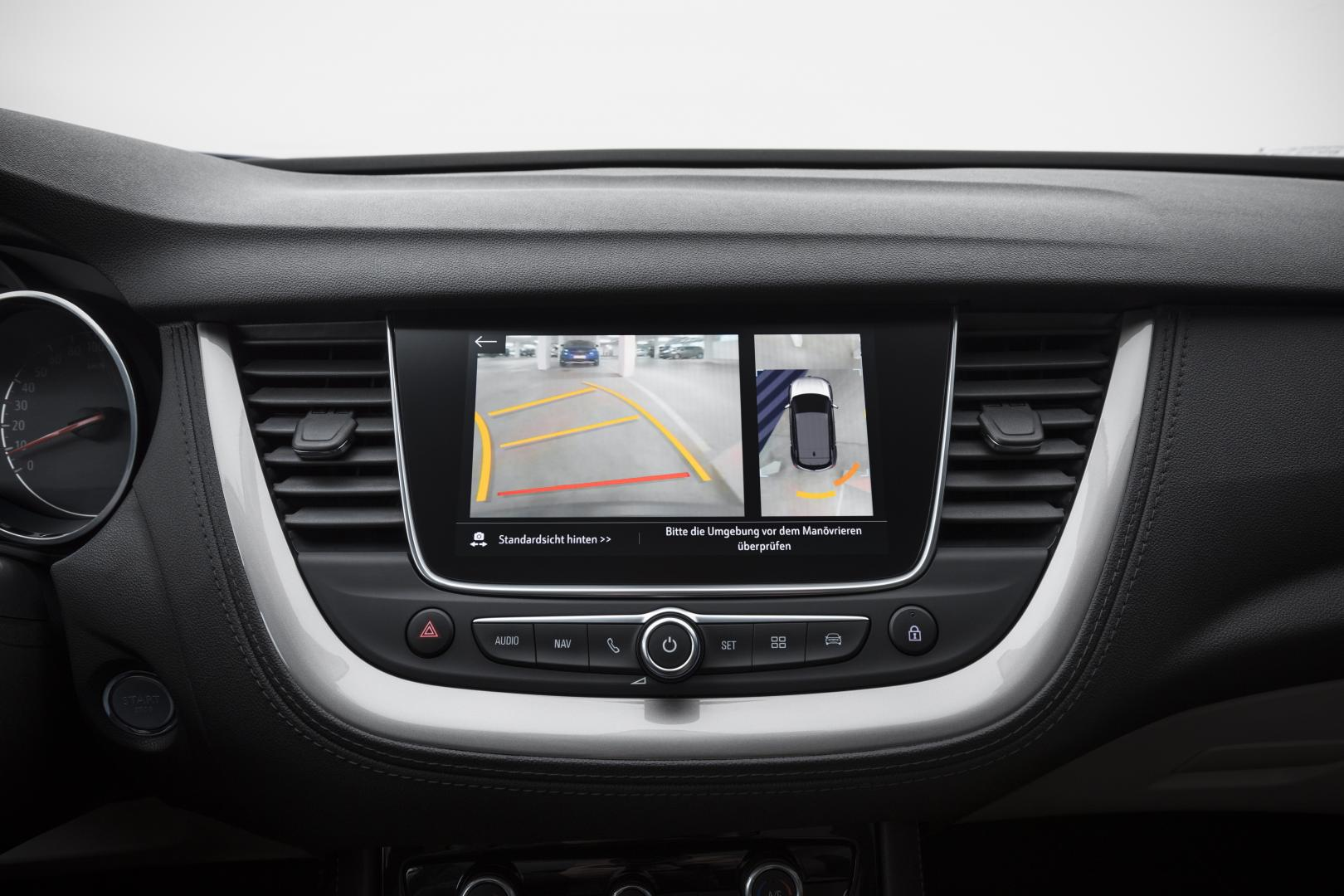 Opel Grandland X 2.0 CDTi Ultimate display (2018)