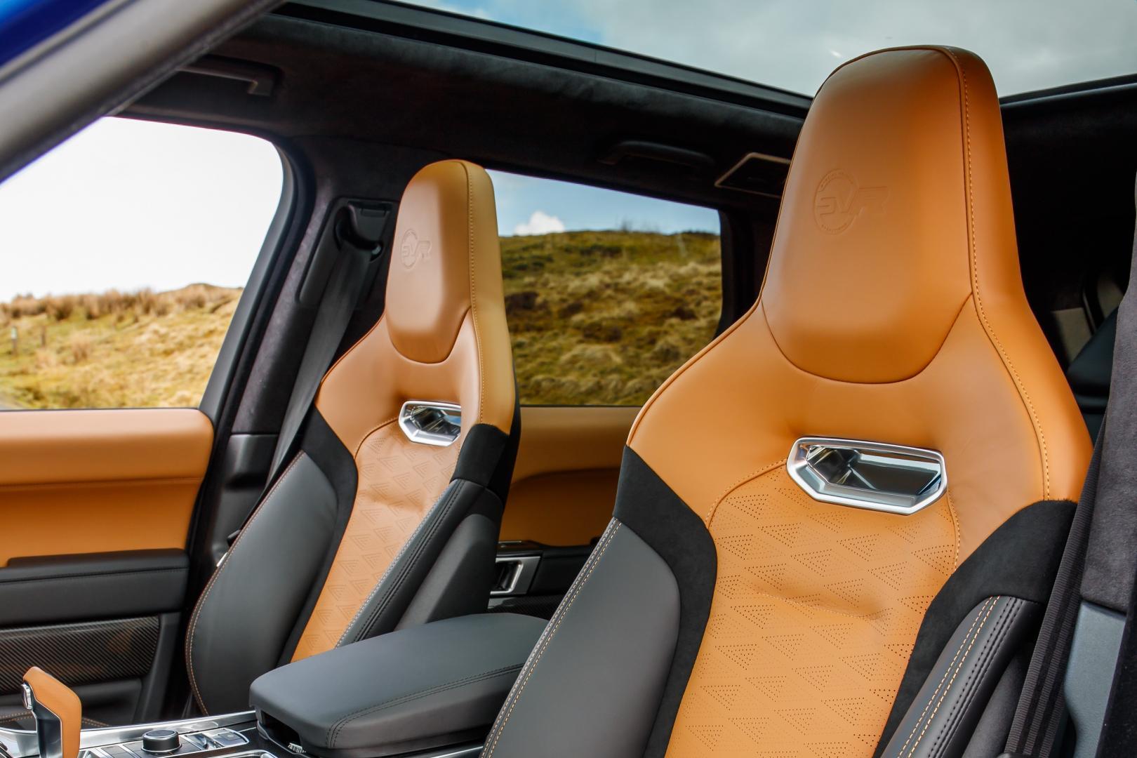 Range Rover Sport SVR stoelen (2018)