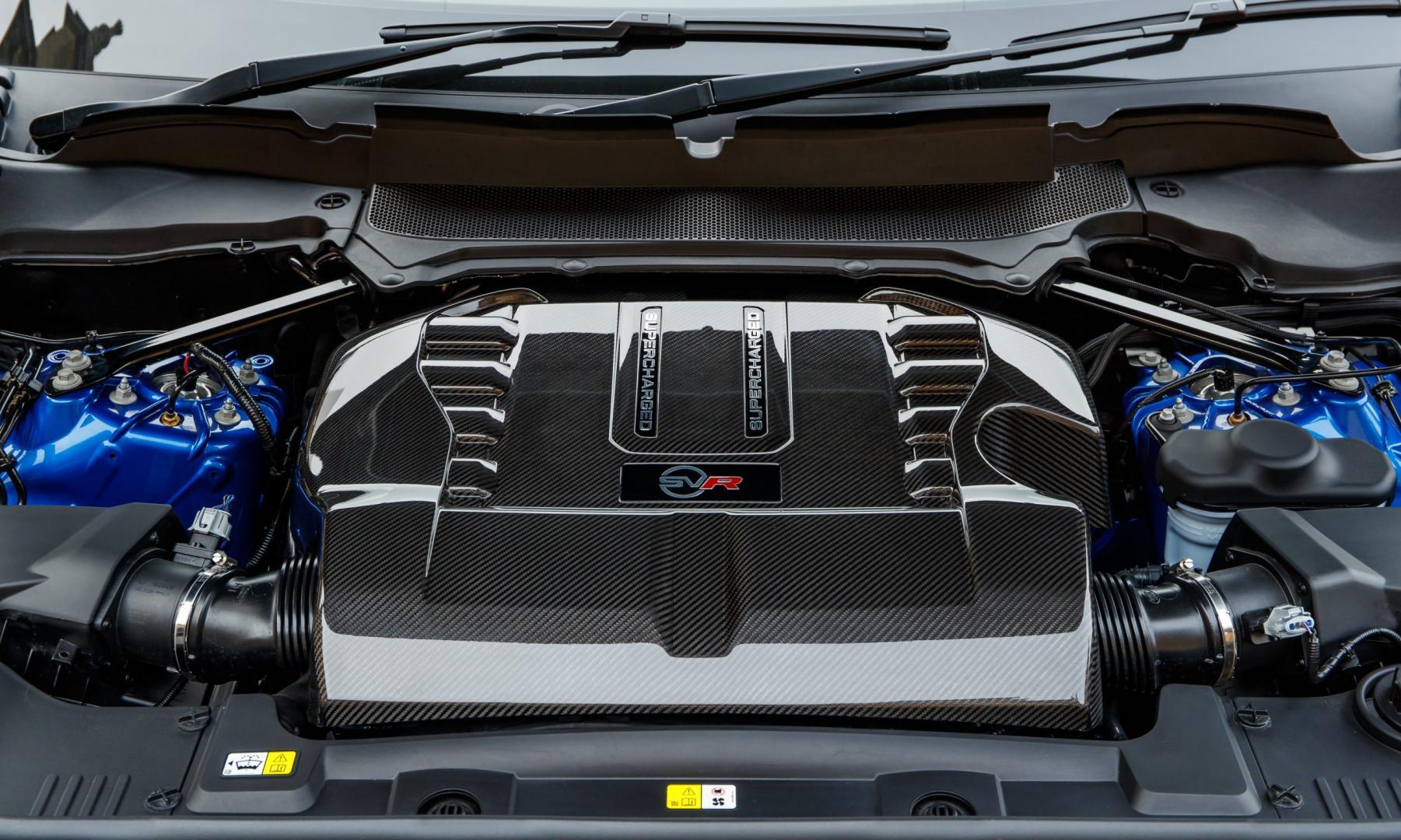 Range Rover Sport SVR motor (2018)