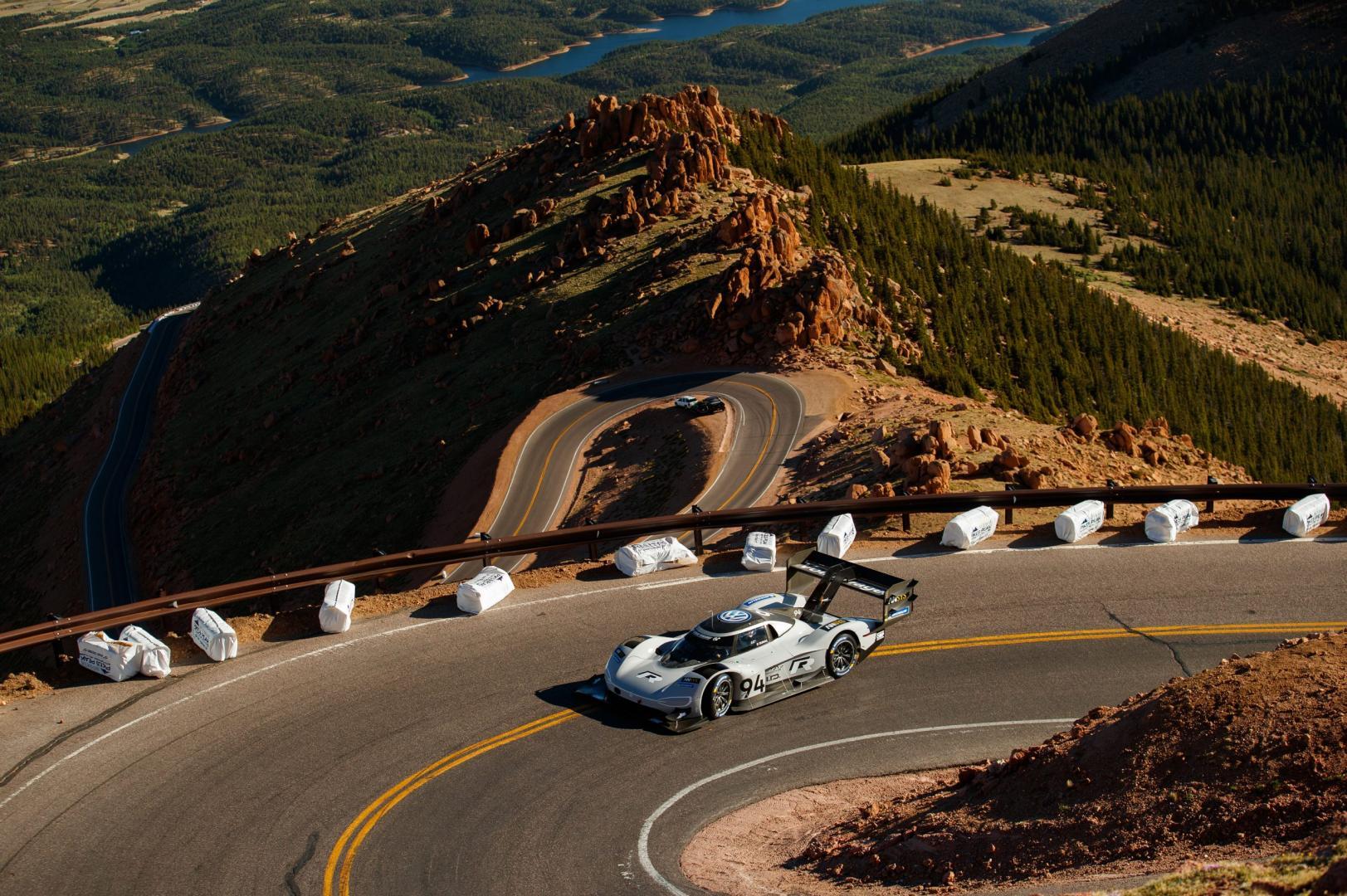 snelste pikes peak tijd volkswagen i.d. r