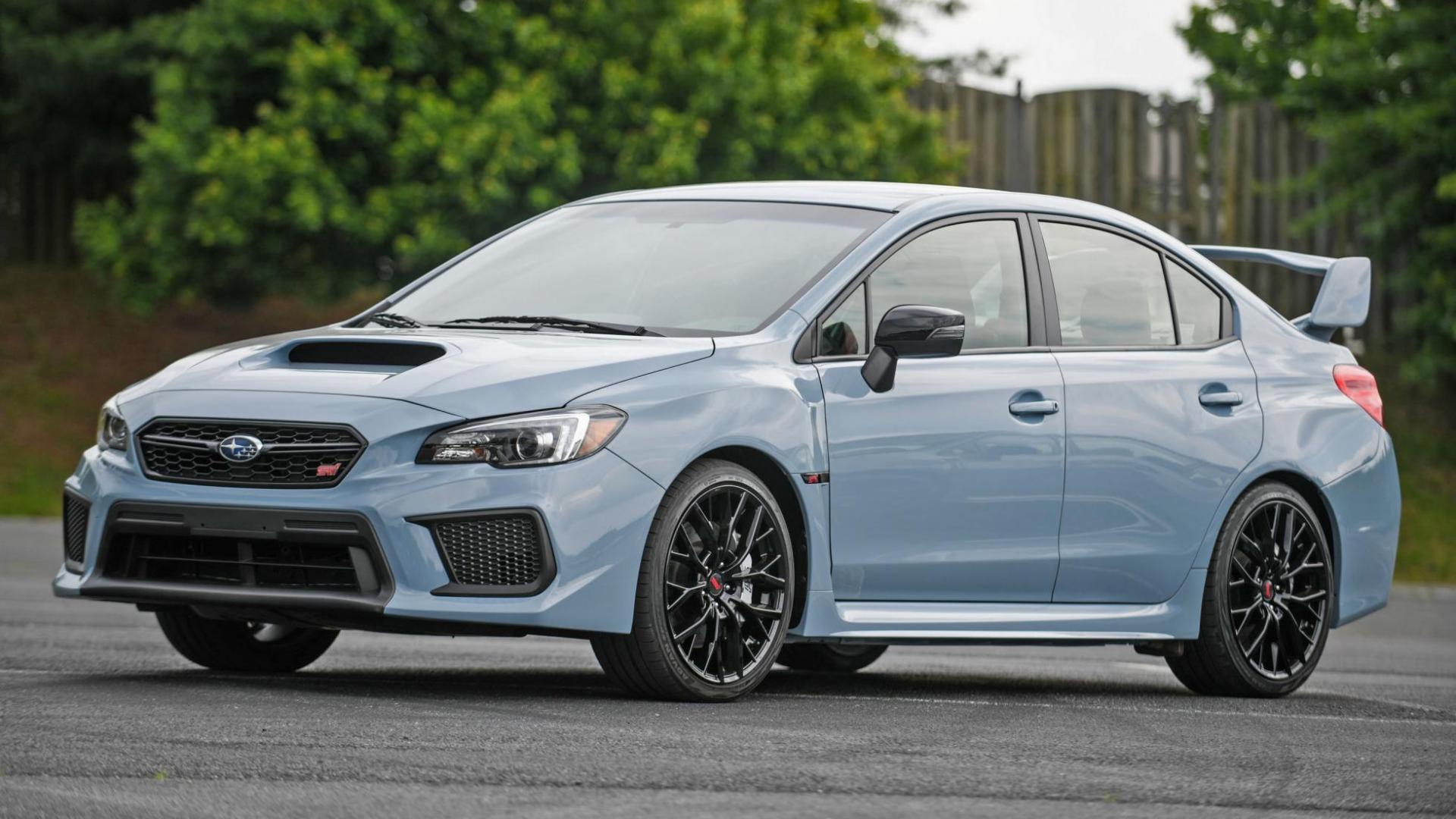 Subaru WRX STI Series Gray