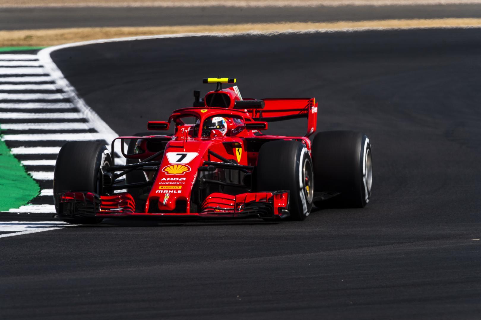 2e vrije training van de GP van Groot-Brittannië 2018