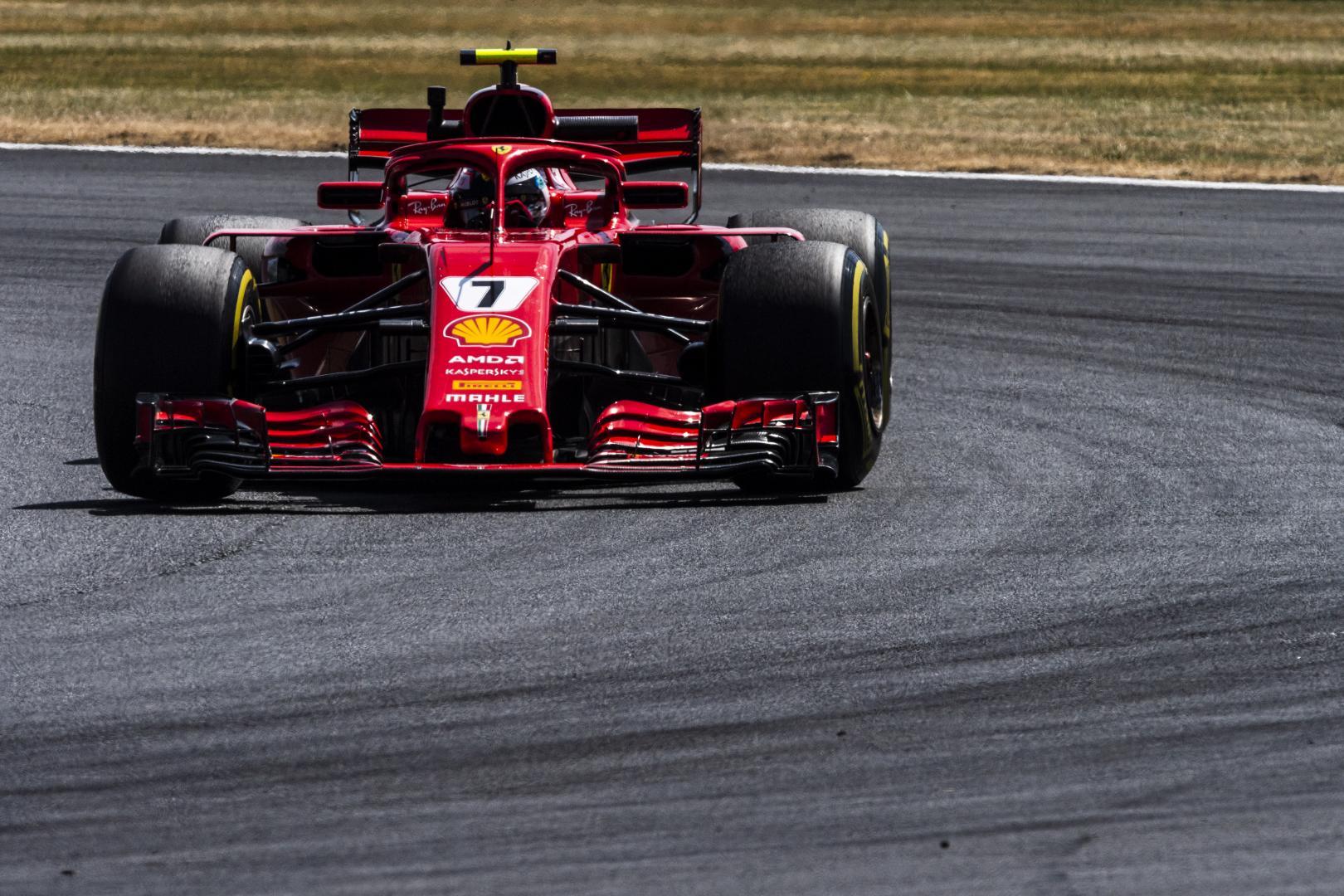3e vrije training van de GP van Groot-Brittannië 2018
