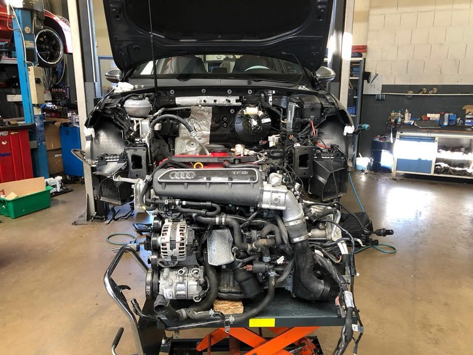 Volkswagen Golf 7 R met RS 3 motor