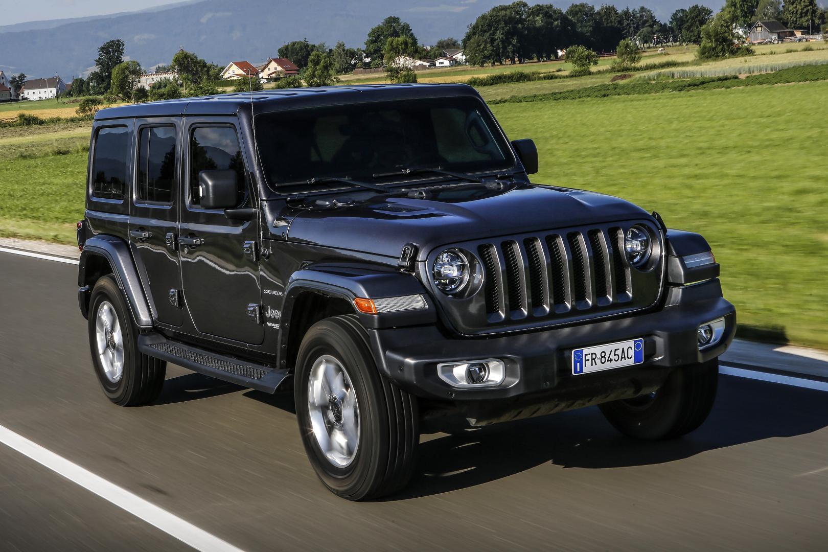 Nieuwe Jeep Wrangler (JL): 1e rij-indruk