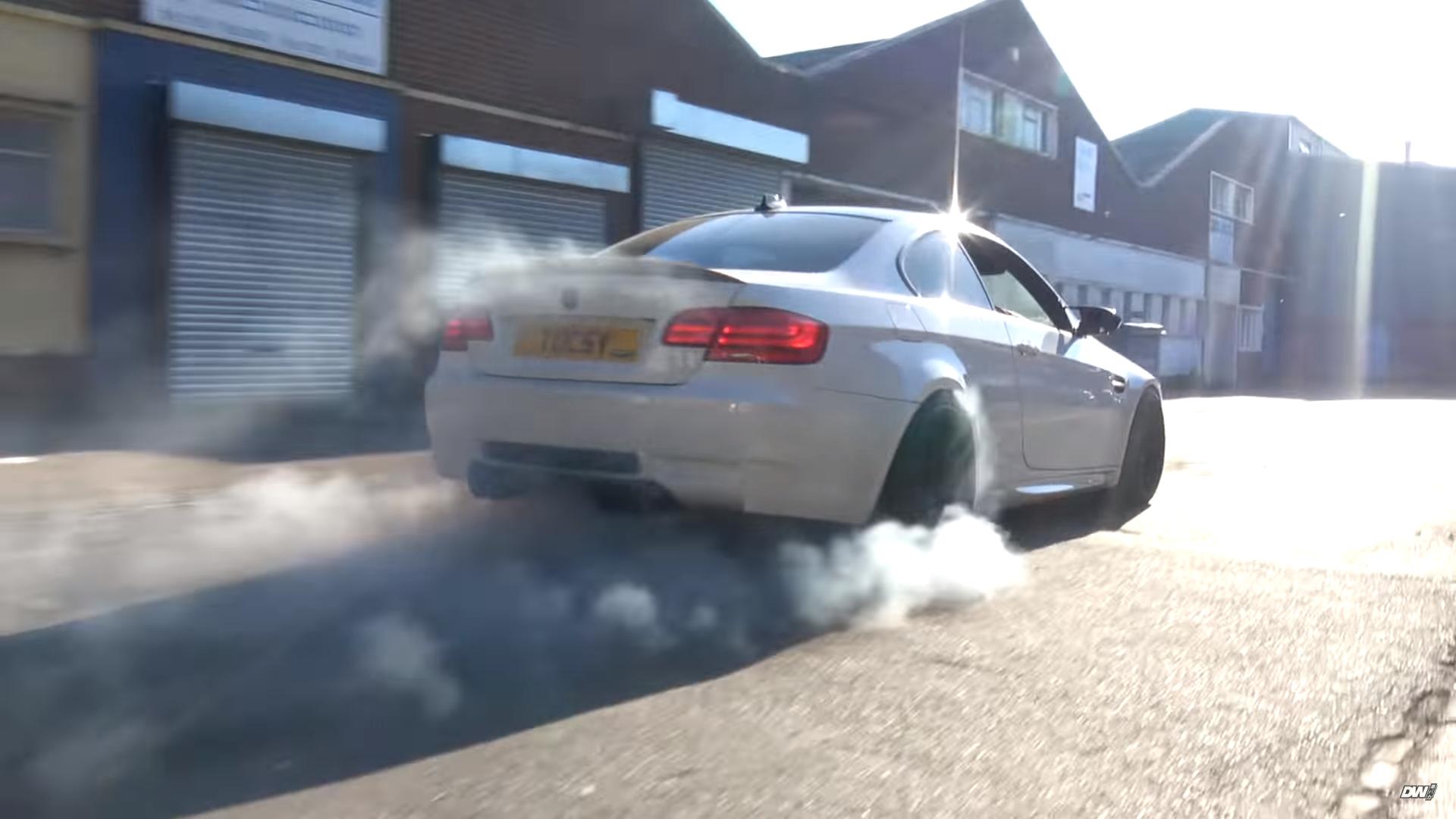 BMW M3 met Corvette-motor eet alle banden op