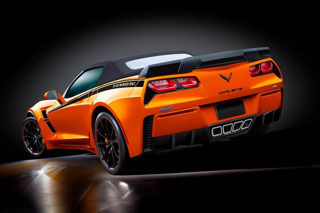 Chevrolet Corvette met 1.000 pk