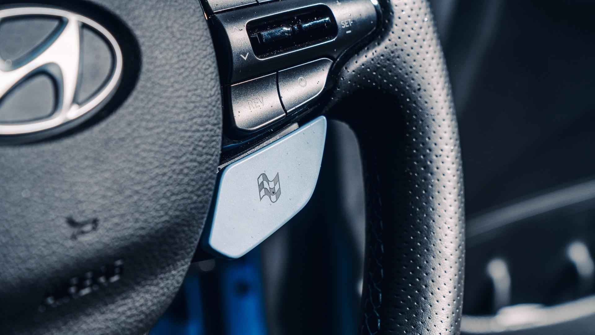 Hyundai i30 N knop