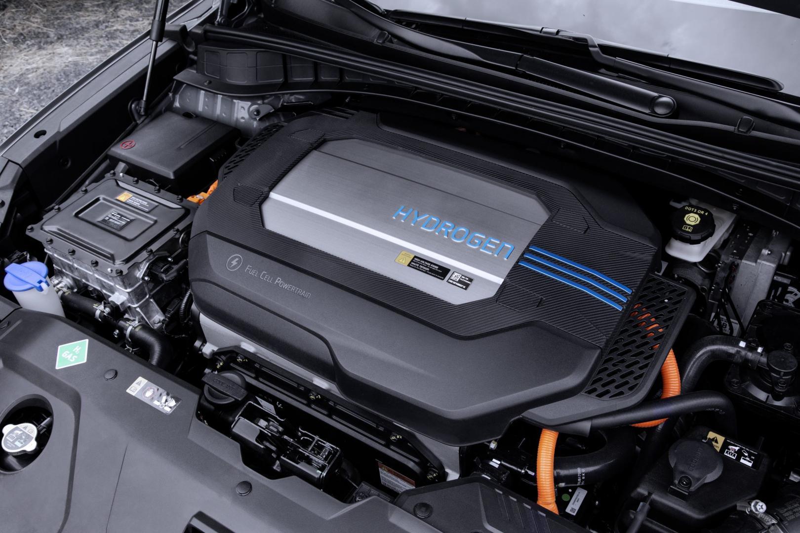 Hyundai Nexo 2018 motor