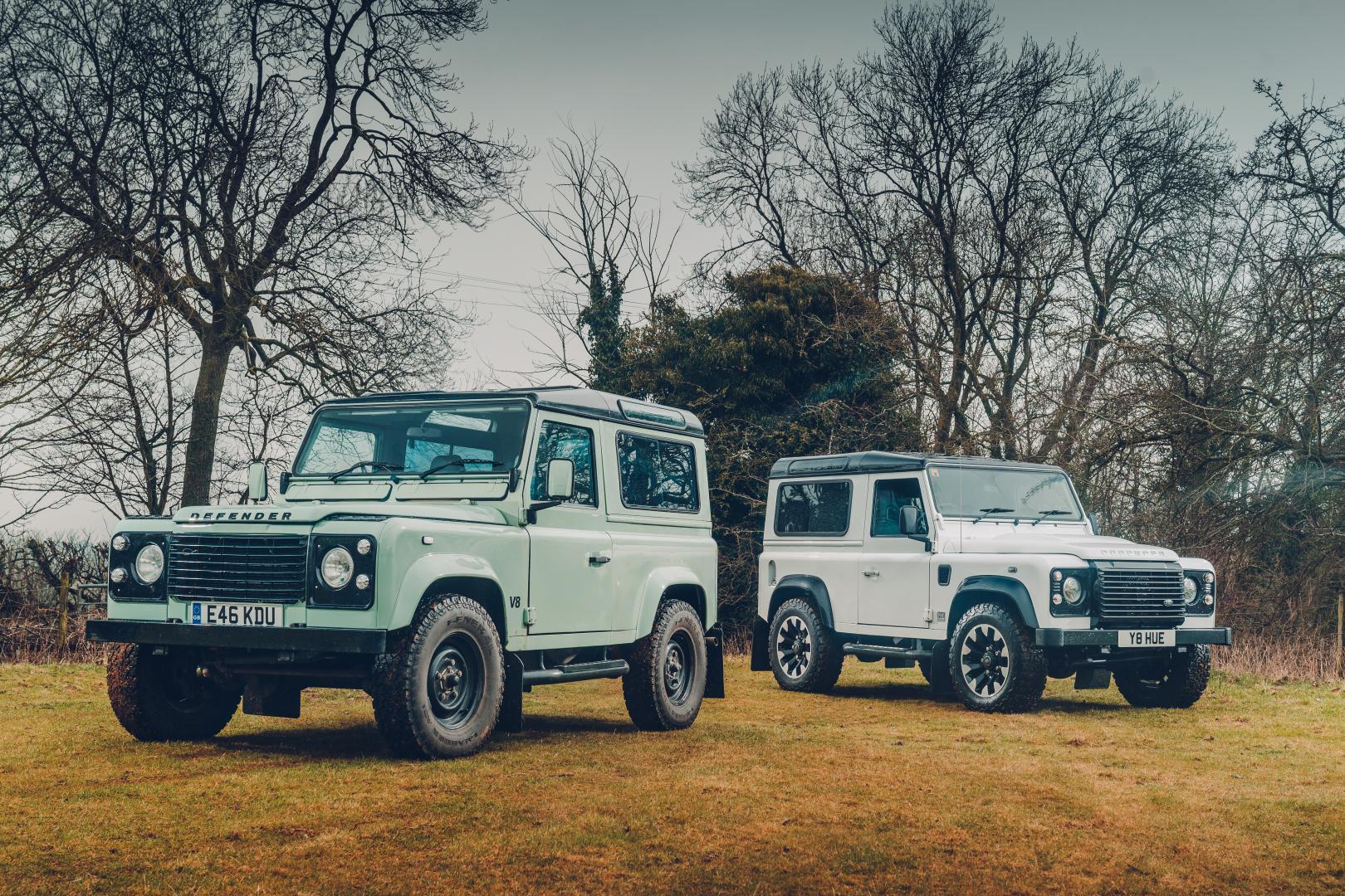 Land Rover Defender 90 Works V8 70th Edition