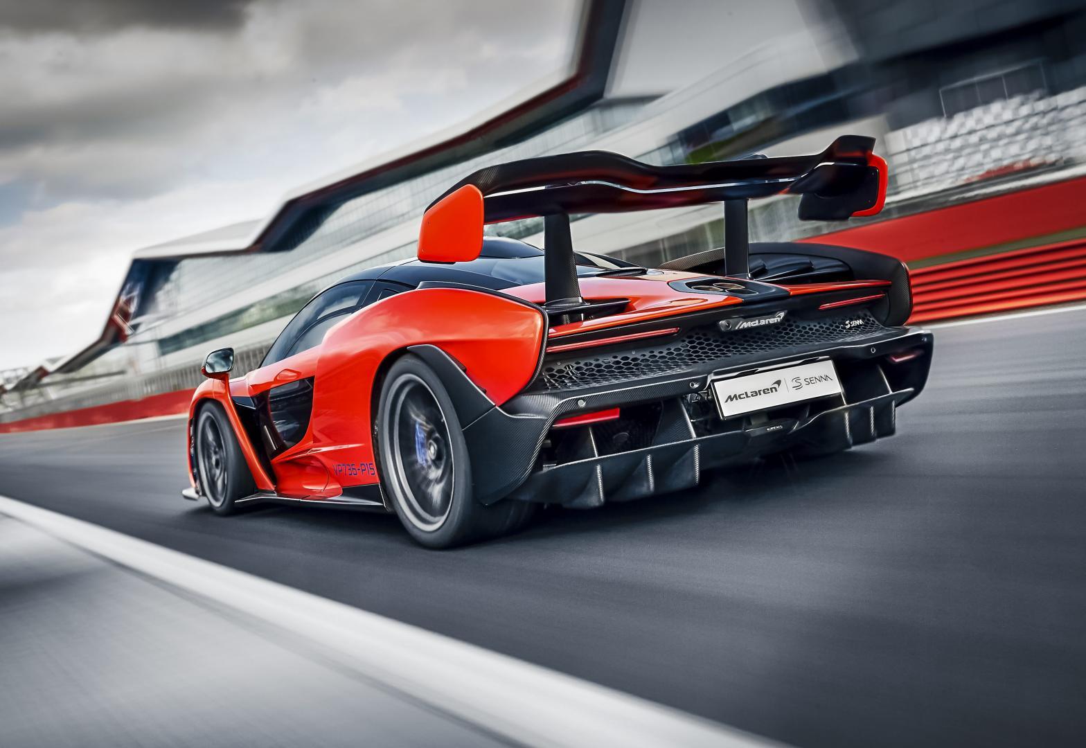 McLaren Senna Spoiler