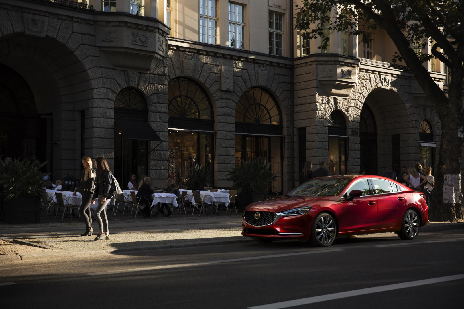 Nieuwe Mazda 6