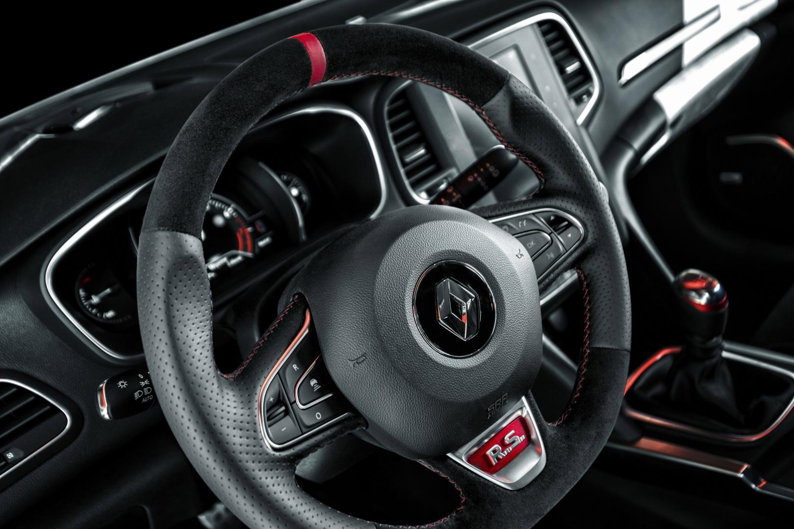 Renault Megane RS Trophy stuur
