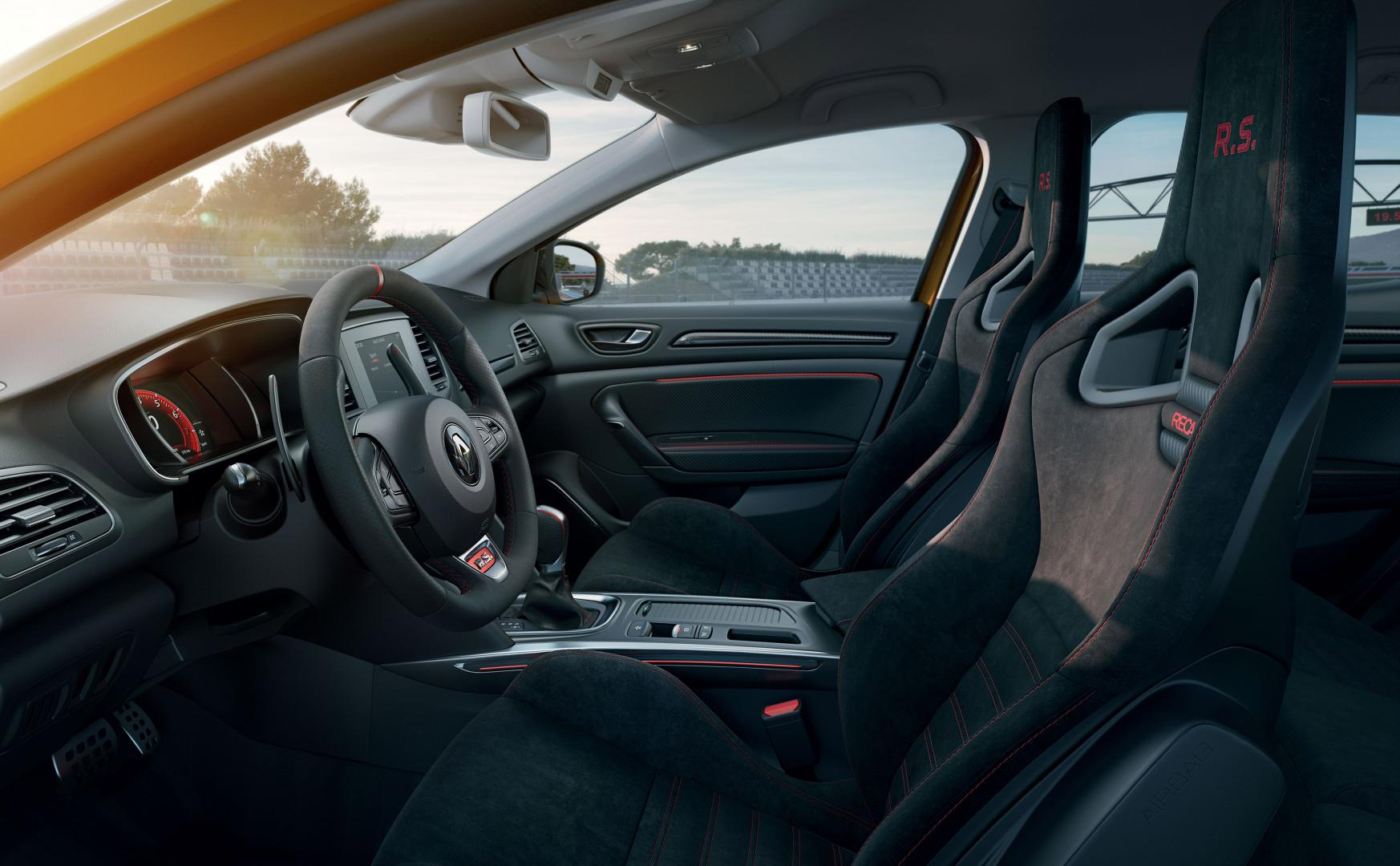 Renault Megane RS Trophy interieur