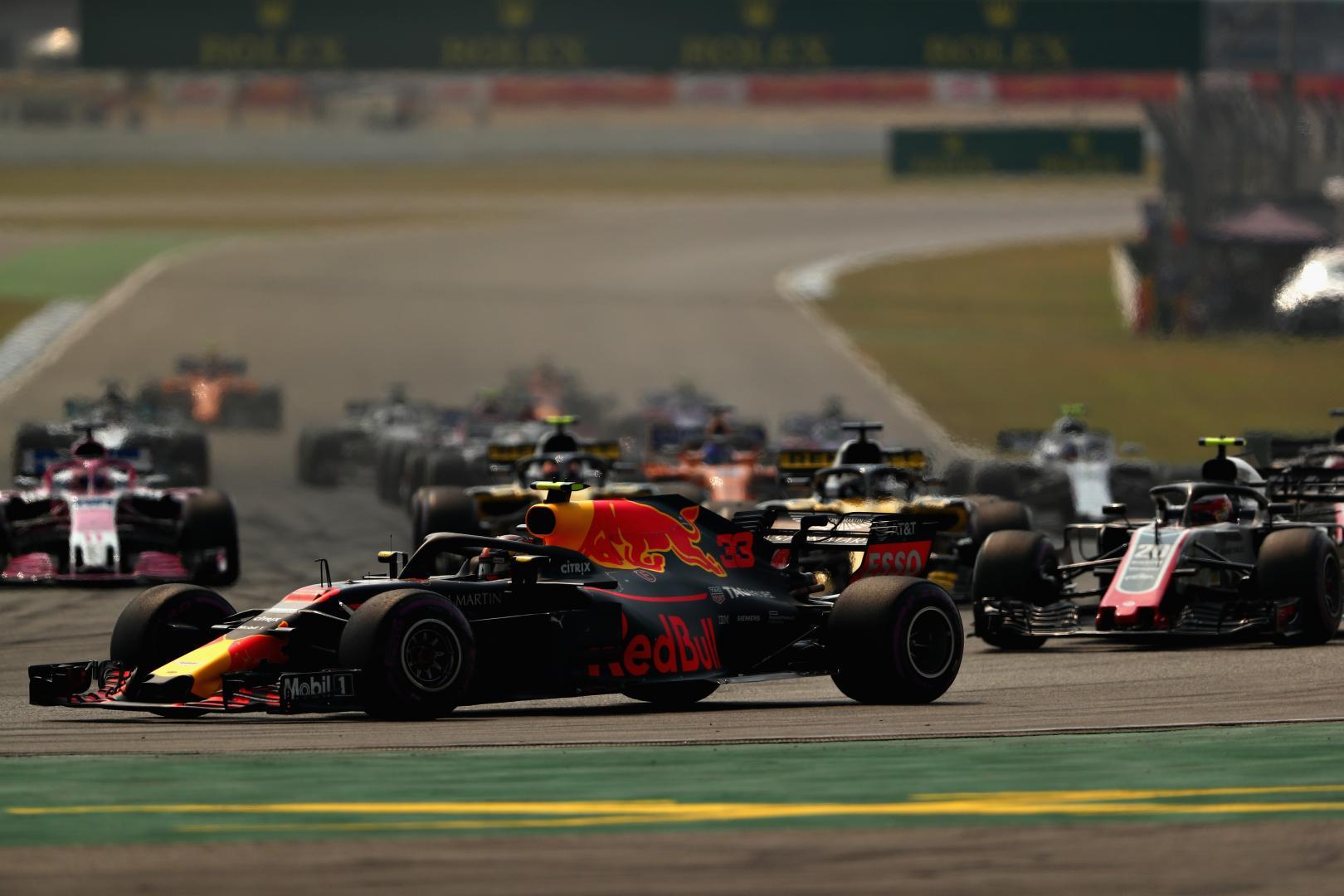 Uitslag van de GP van Duitsland 2018