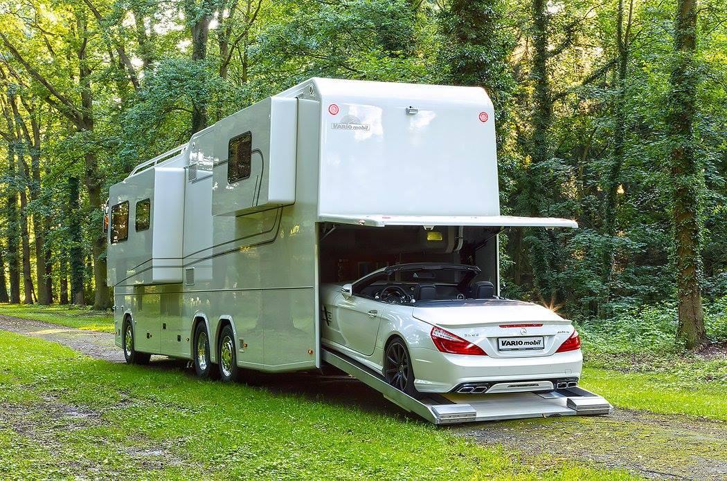 Garage Voor Camper : Vario perfect is een camper met garage topgear
