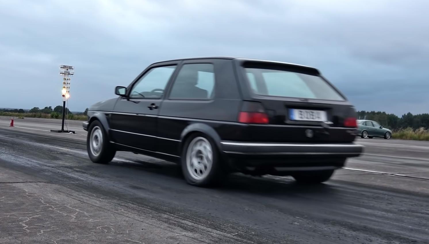 VW Golf met 1.233 pk