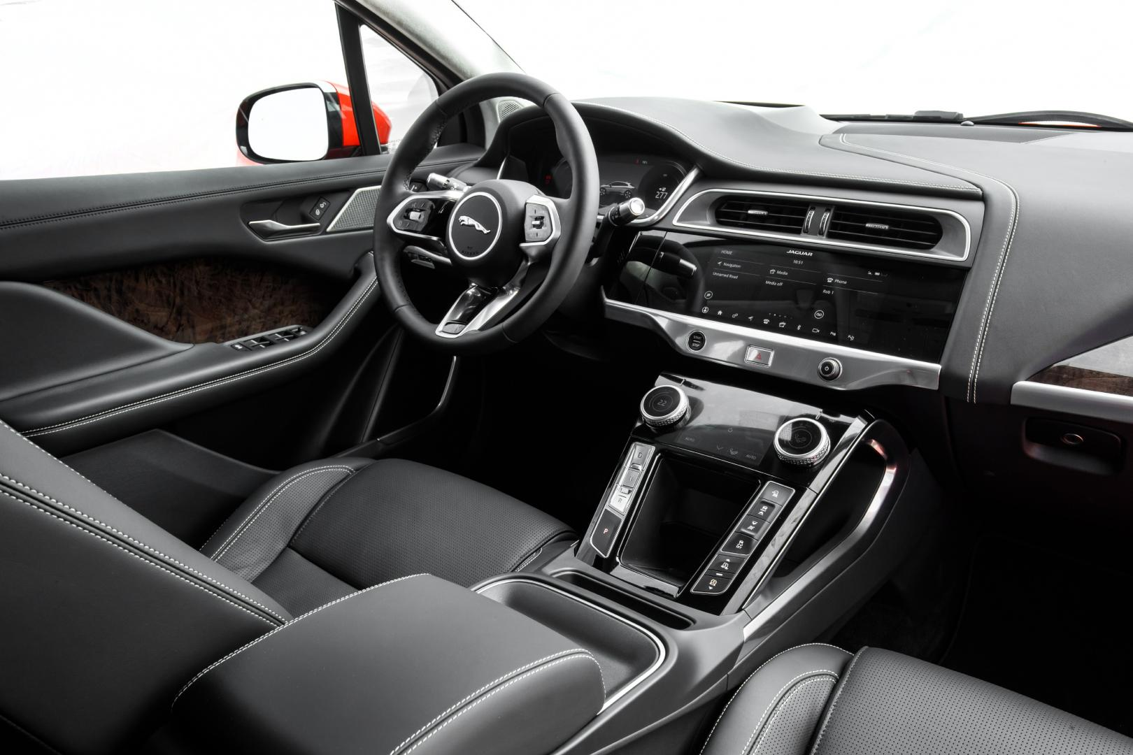 Jaguar I-Pace First Edition 2018 interieur