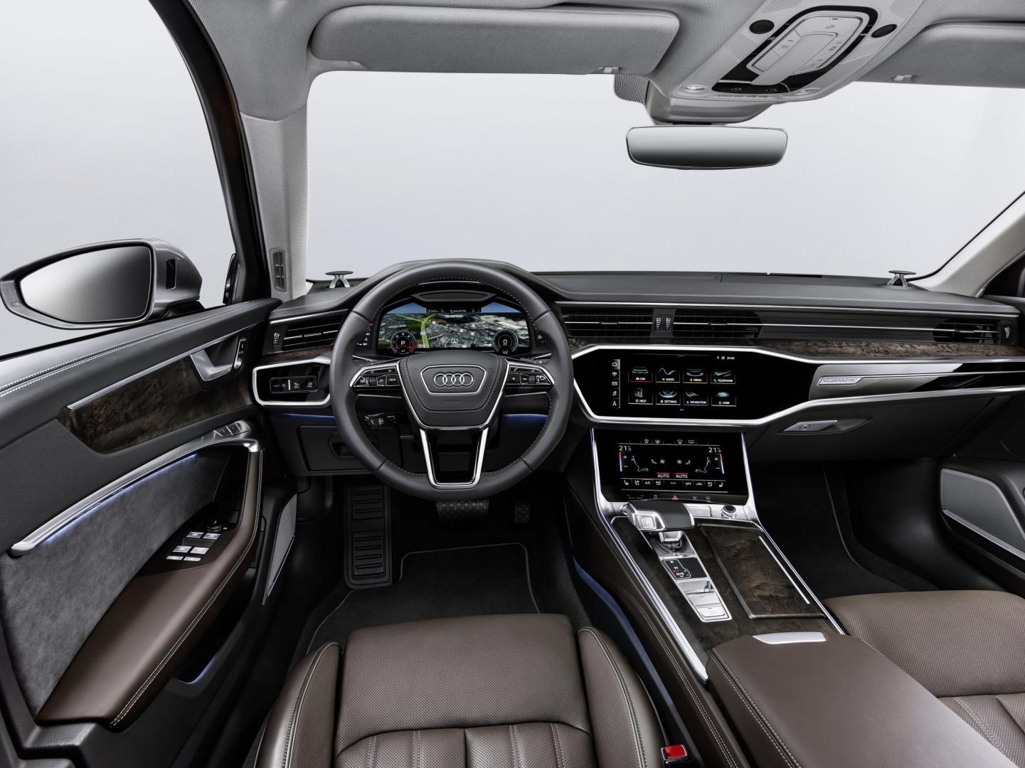 Audi A6 55 TFSI Quattro interieur