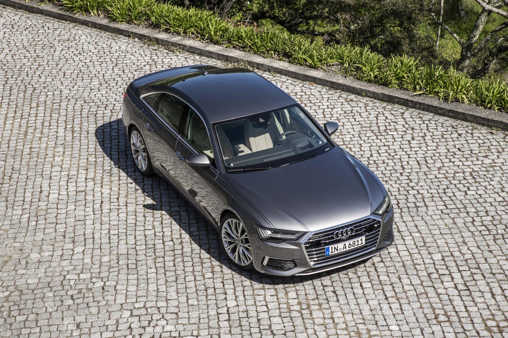 Audi A6 55 TFSI Quattro bovenkant