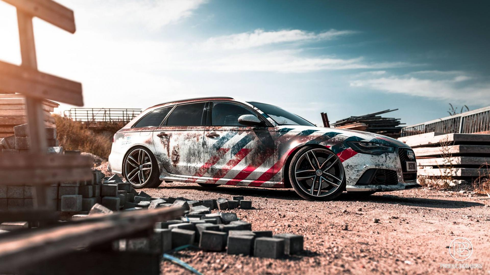 Audi RS 6 Team Interception gumball 3000