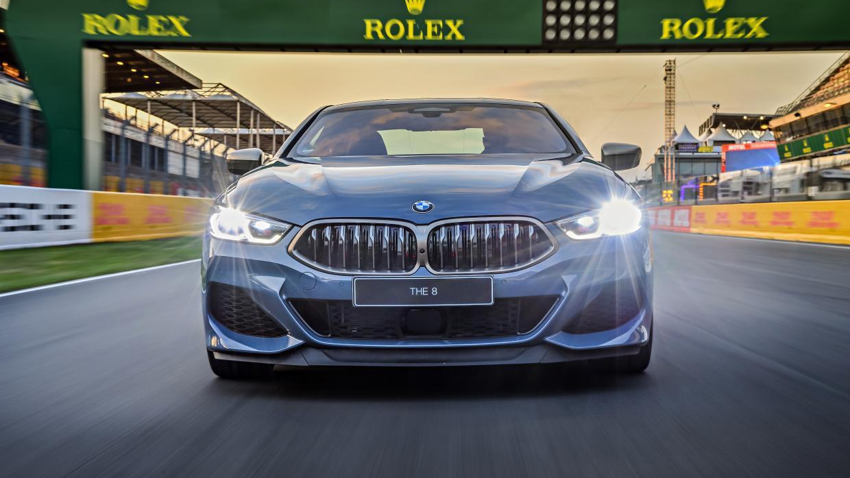 BMW 8-serie voorkant