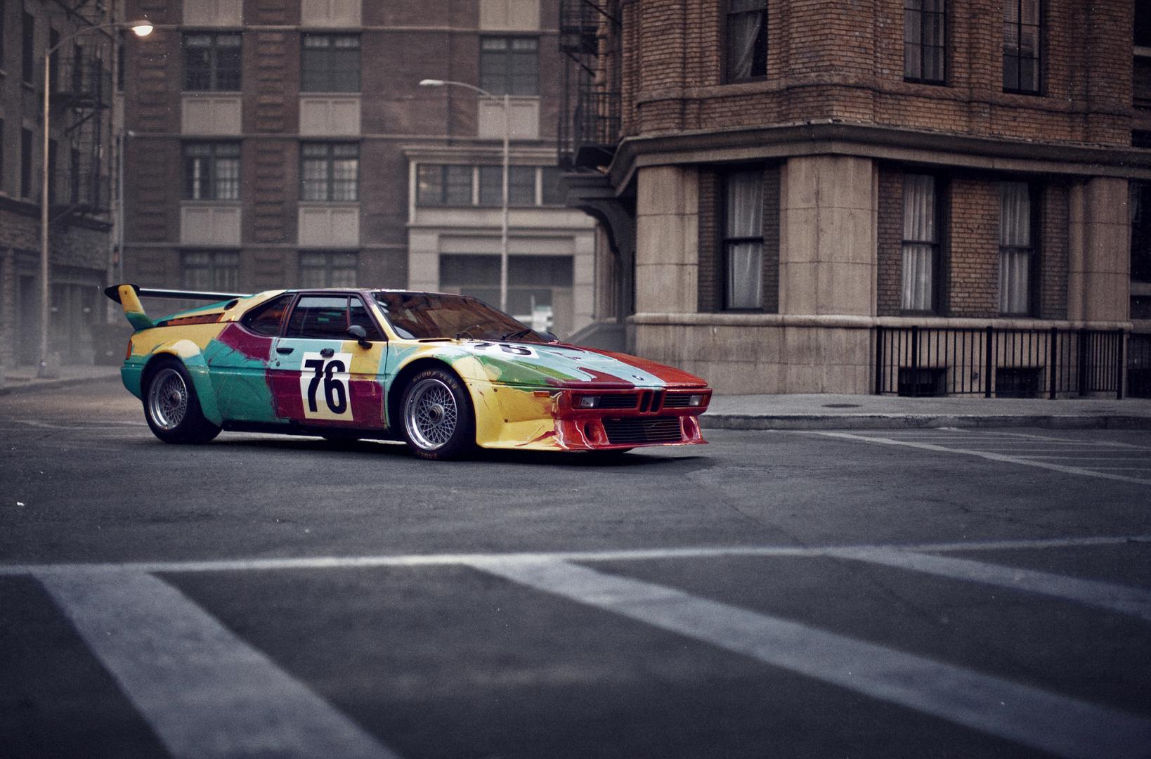 BMW M1 Art Car Andy Warhole