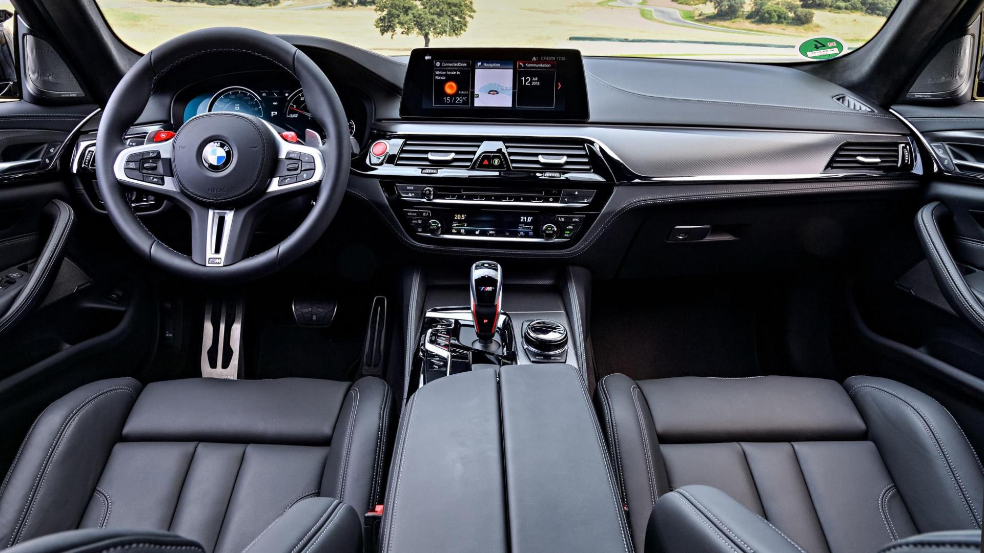 BMW M5 Competition F90 interieur