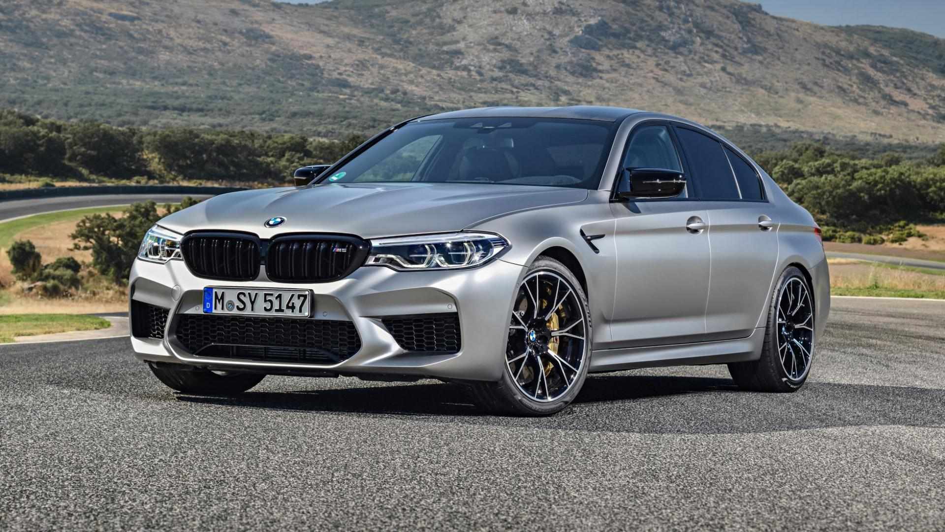 BMW M5 Competition F90 driekwart