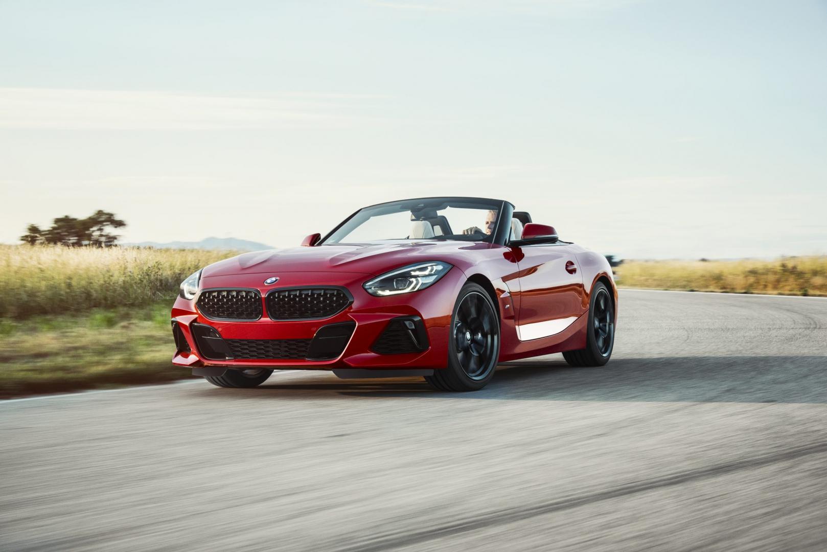 BMW Z4 2018 rood