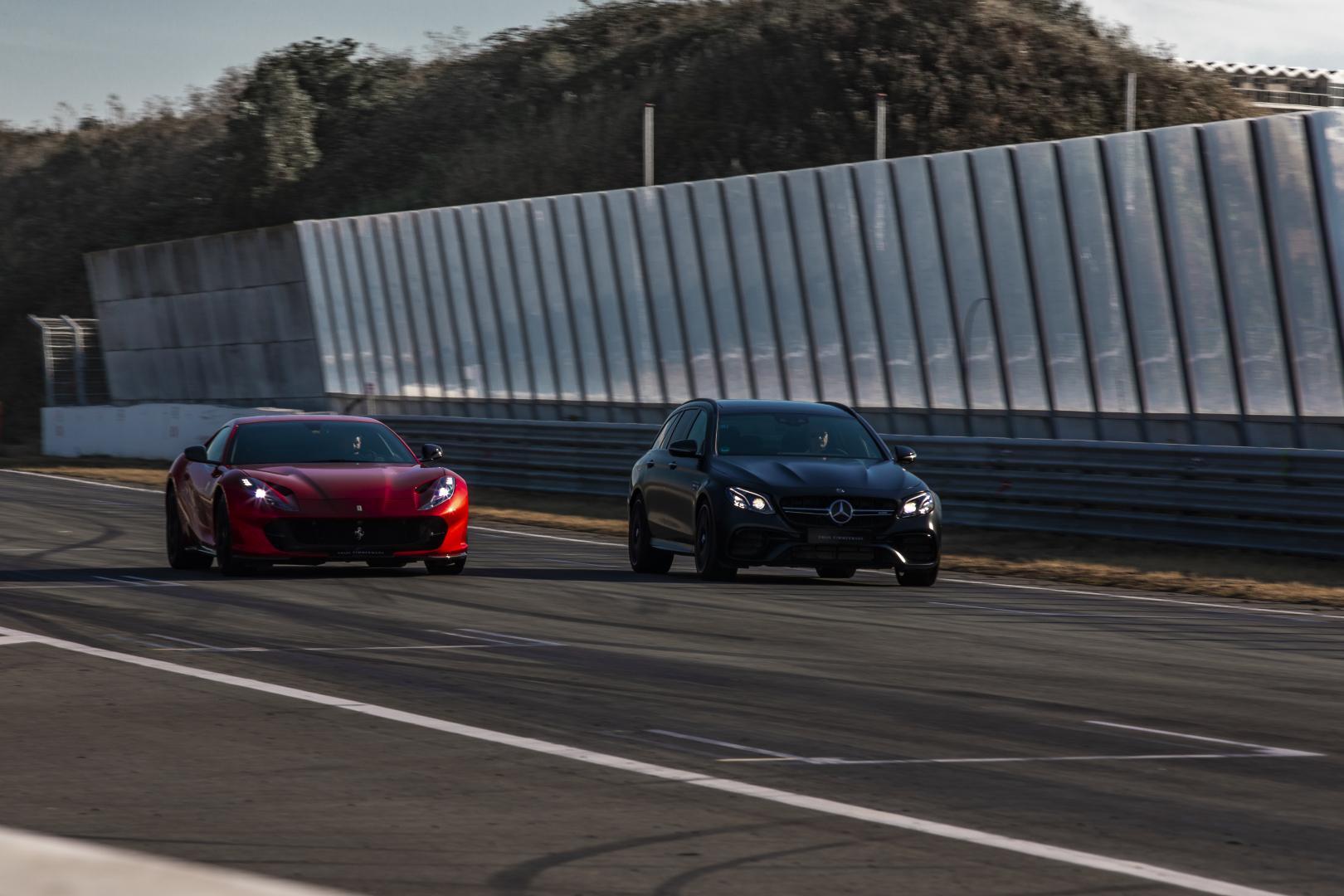 Ferrari 812 Superfast VS Brabus 800 E 63 S Estate