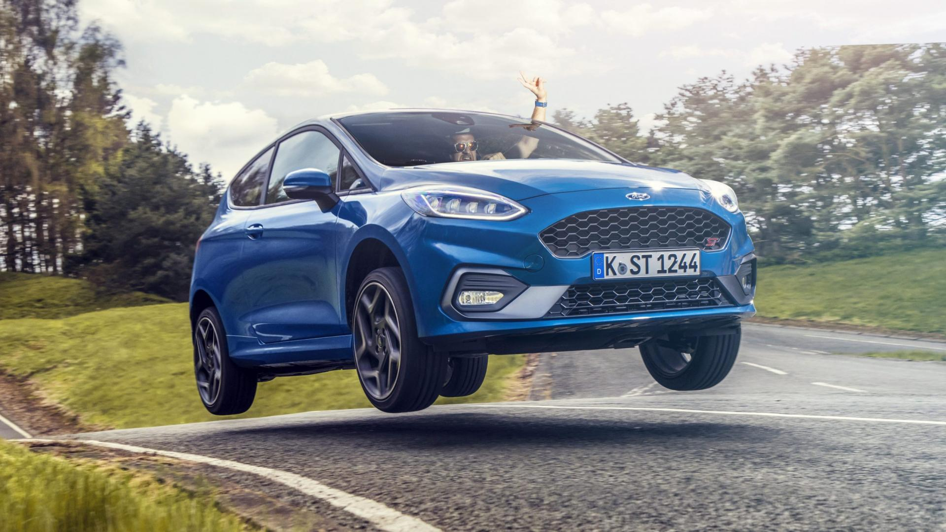 Ford Fiesta ST Sprong JUmp