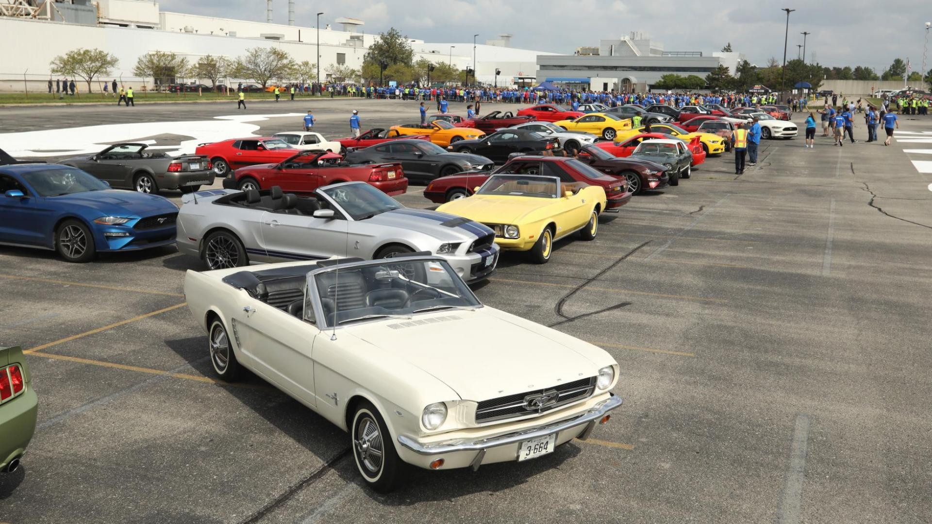 10 miljoenste Ford Mustang is hier