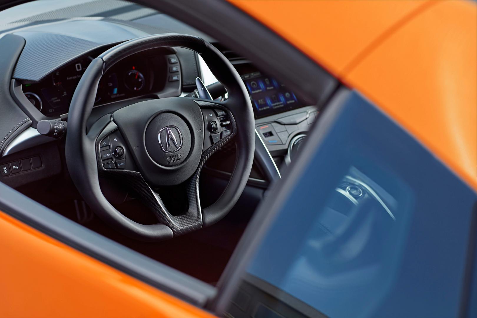 Honda NSX 2018 facelift