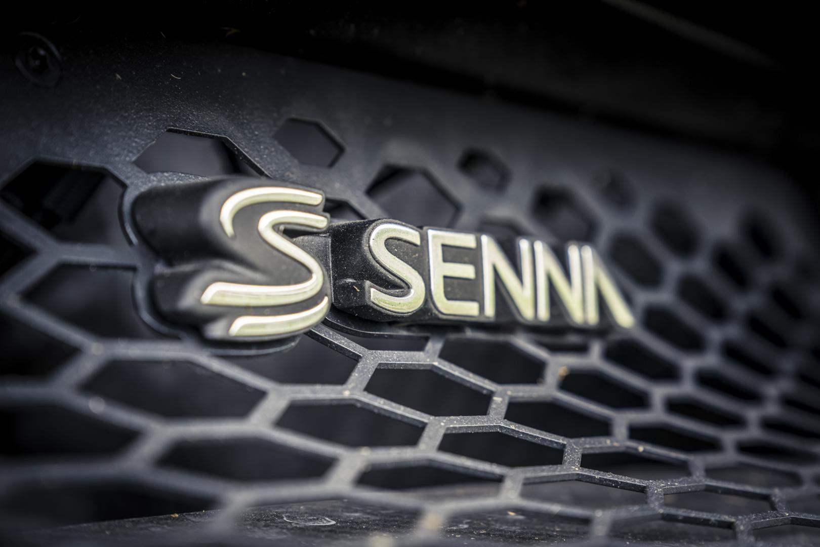mclarne senna logo