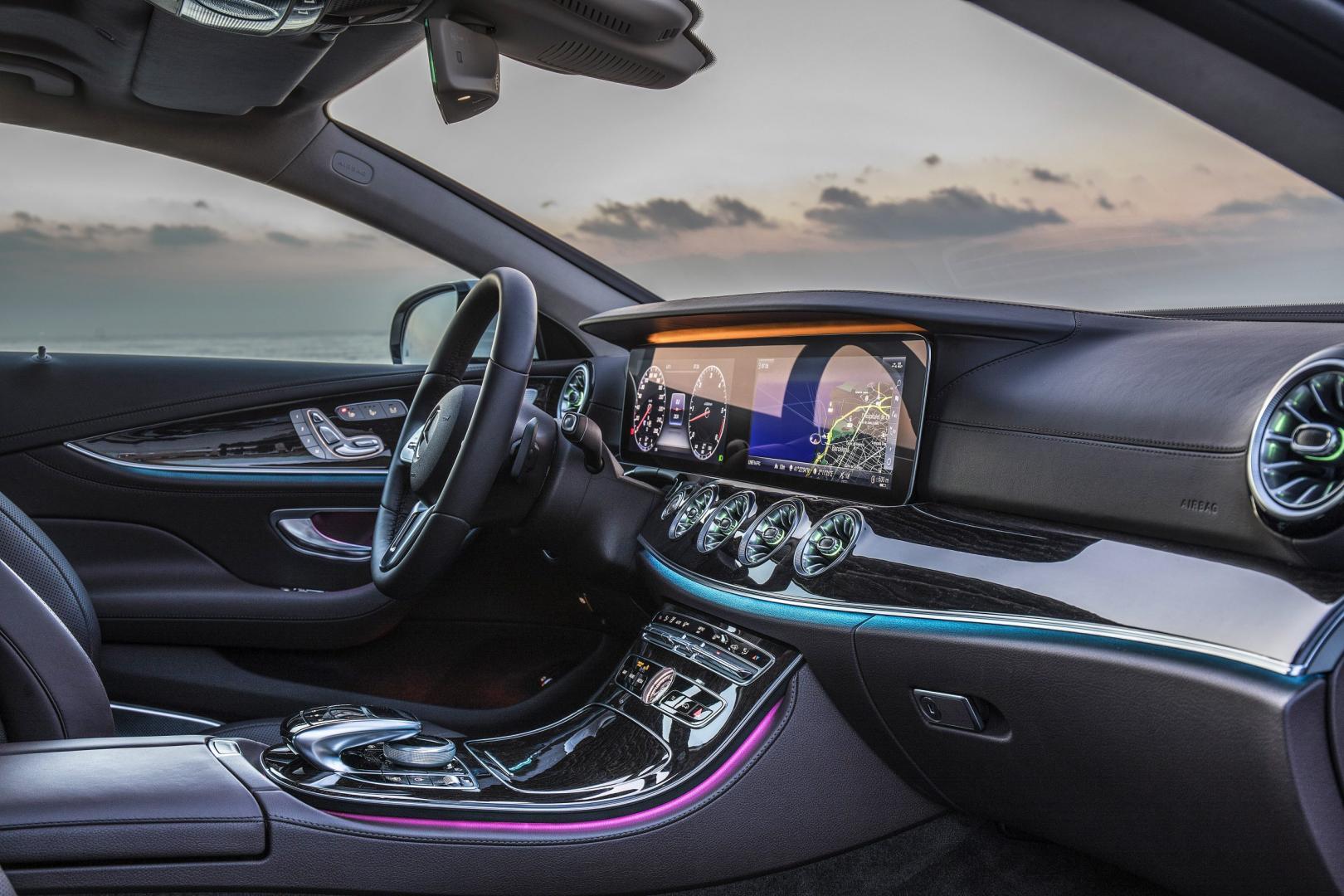 Mercedes CLS 350 d interieur