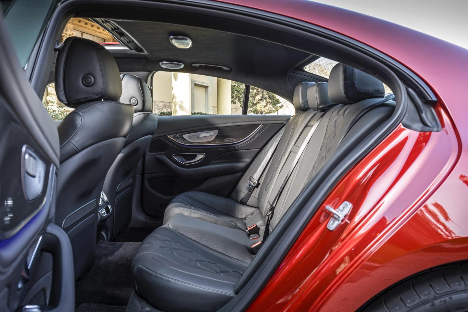 Mercedes CLS 350 d achterbank