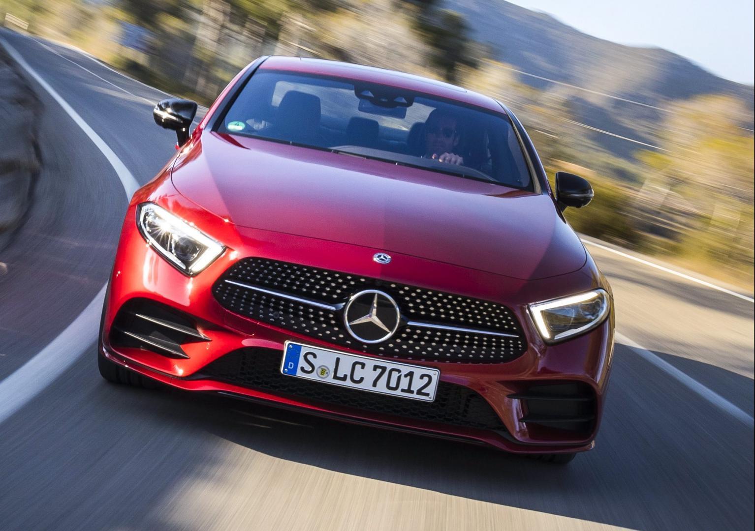 Mercedes CLS 350 d voorkant