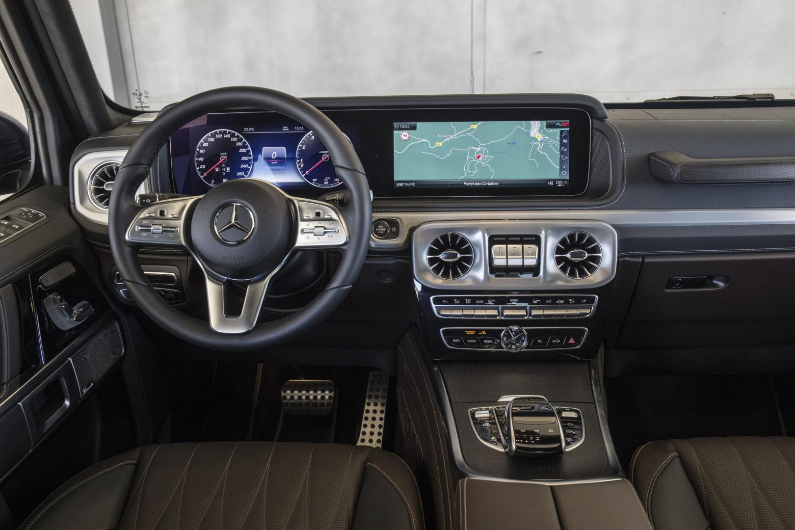 Mercedes G 500 2018 interieur