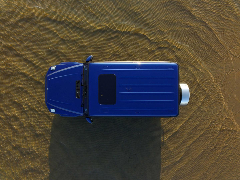 Mercedes G 500 2018 blauw