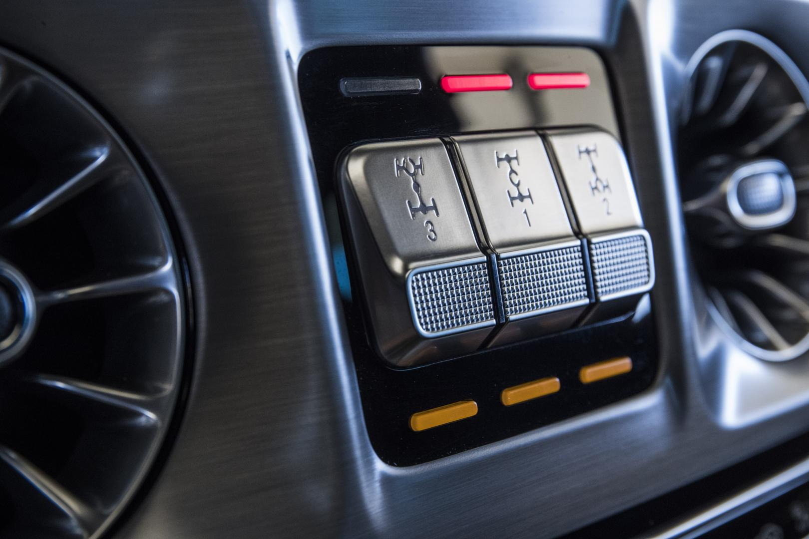 Mercedes G 500 offroad mode G-mode