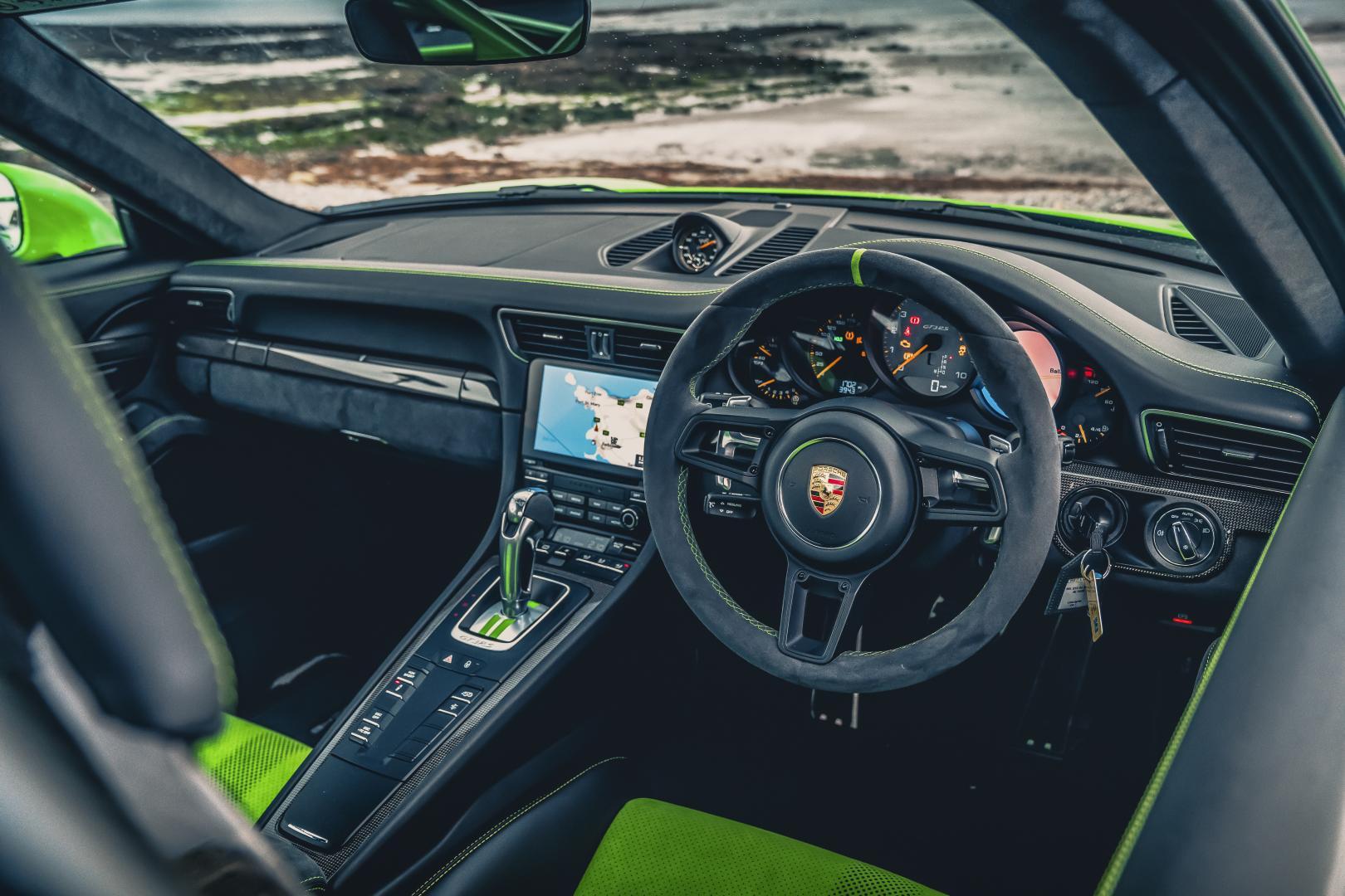 Porsche 911 GT3 RS interieur 991.2