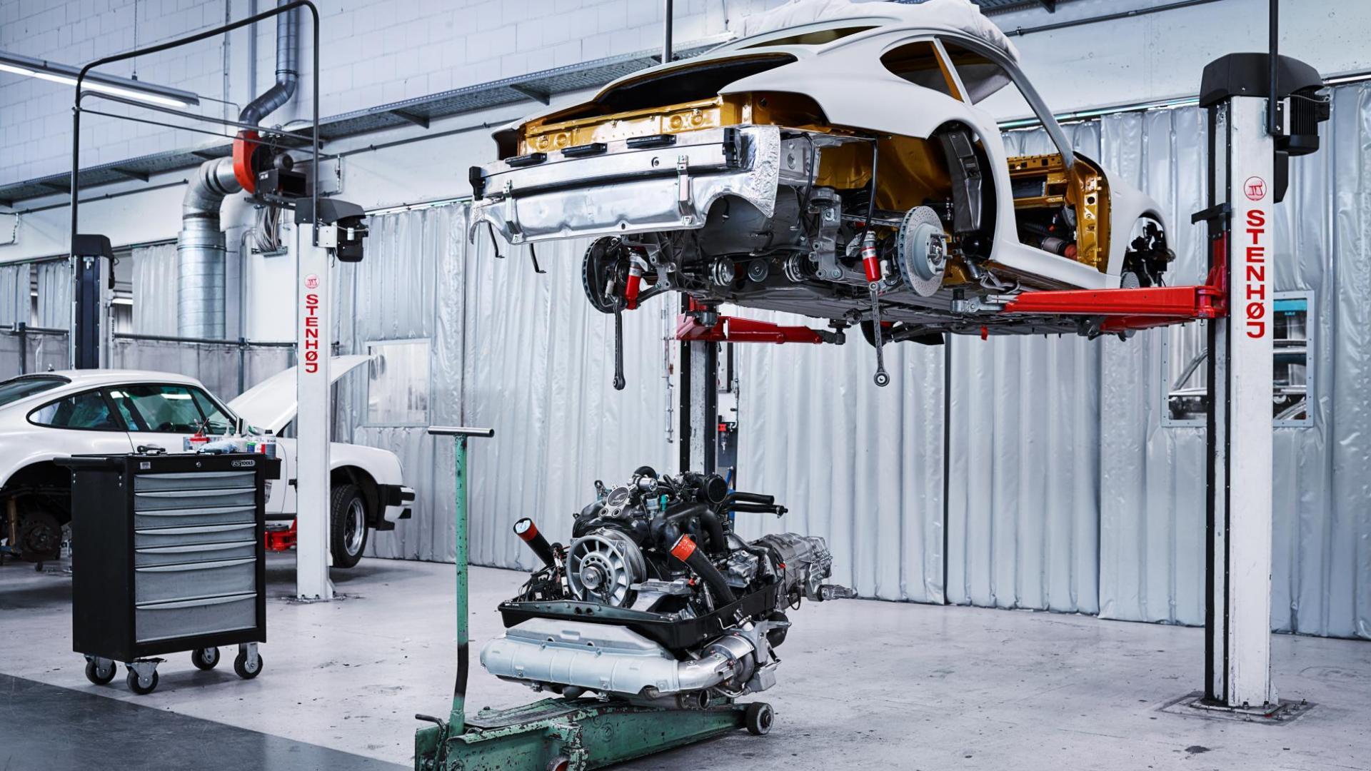 Porsche 993 Turbo restauratie